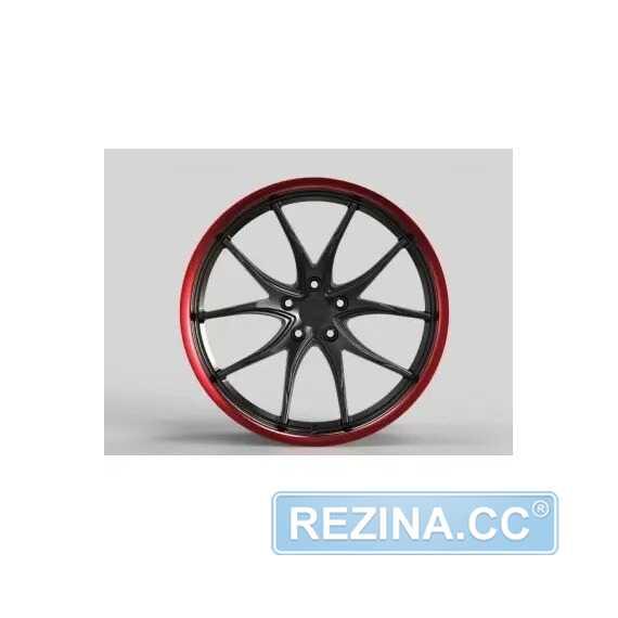 Купить Легковой диск WS FORGED WS2257 SATIN_BLACK_RED_LIP_FORGED R20 W9 PCD5X115 ET22 DIA71.6