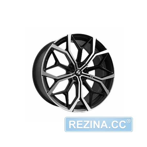Купить Легковой диск REPLICA FORGED BX7M MBF R22 W10.5 PCD5X112 ET43 DIA66.6