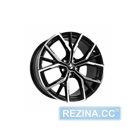 Купить Легковой диск REPLICA FORGED B829 BKF R19 W8 PCD5X112 ET30 DIA66.6