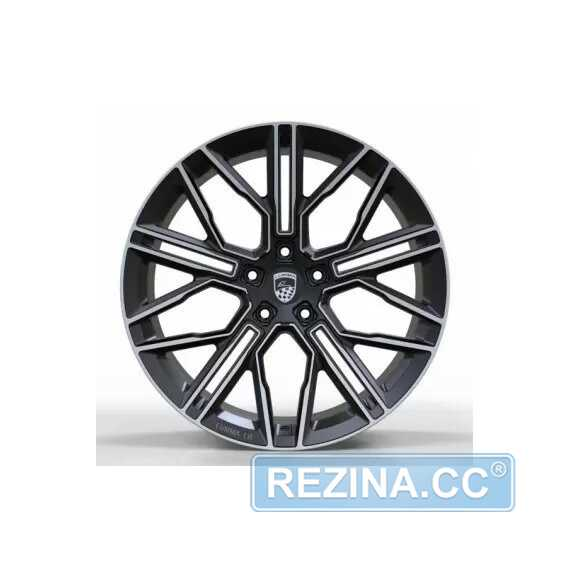 Купить Легковой диск REPLICA FORGED B1254 MATT-BLACK-MACHINED-FACE_FORGED R20 W11 PCD5X120 ET37 DIA74.1