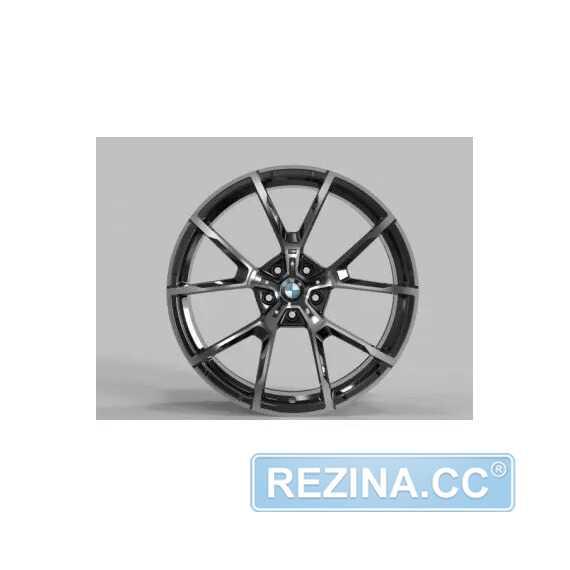 Купить Легковой диск REPLICA FORGED B192B GLOSS-BLACK-MACHINED-FACE_FORGED R20 W9.5 PCD5X112 ET28 DIA66.5