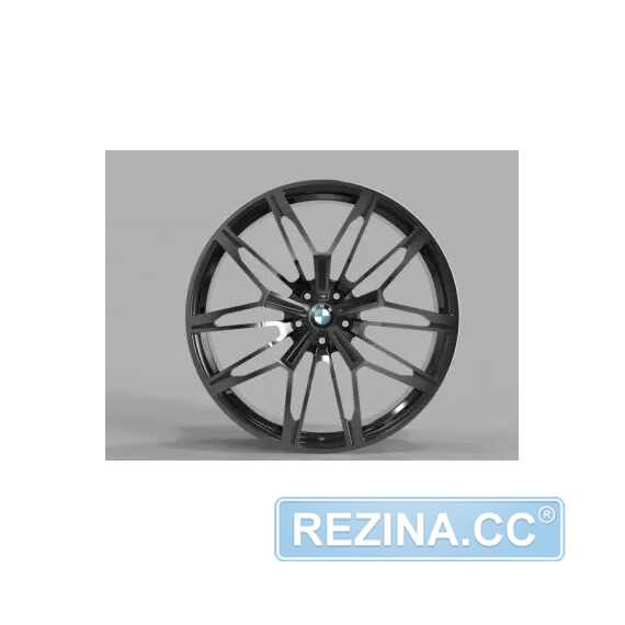 Купить Легковой диск REPLICA FORGED B2262 GLOSS-BLACK-WITH-DARK-MACHINED-FACE_FORGED R22 W9.5 PCD5X112 ET37 DIA66.5