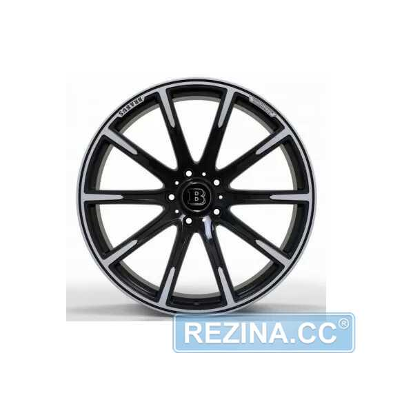 Купить Легковой диск REPLICA FORGED MR1115 SATIN_BLACK_WITH_MACHINED_FACE_FORGED R23 W11 PCD5X130 ET25 DIA84.1