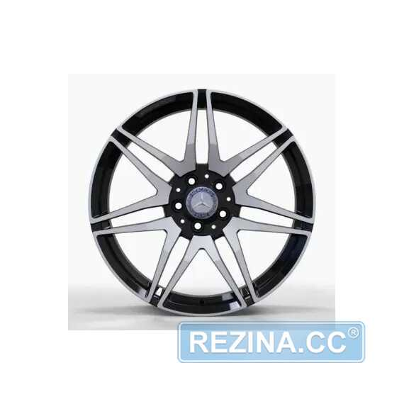 Купить Легковой диск REPLICA FORGED MR874 GLOSS-BLACK-WITH-MACHINED-FACE_FORGED R19 W8 PCD5X112 ET52 DIA66.5