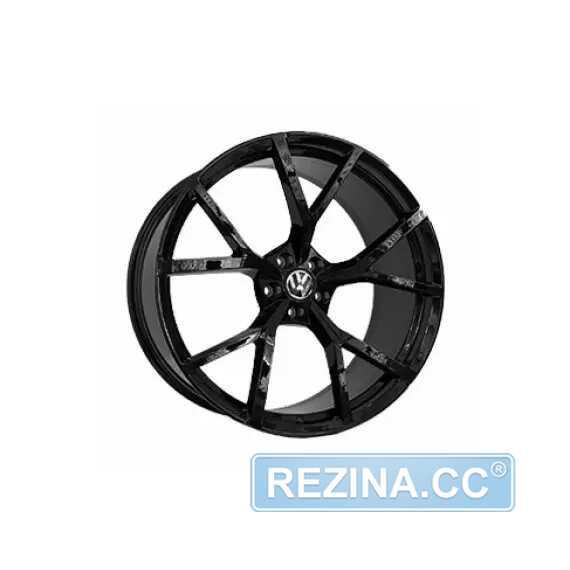 Купить Легковой диск REPLICA FORGED VV159 GLOSS_BLACK_FORGED R22 W10 PCD5X112 ET26 DIA66.5