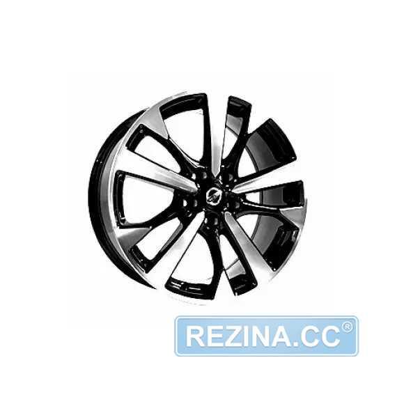 Купить Легковой диск REPLICA FORGED NS5483 BKF R18 W7.5 PCD5X114.3 ET45 DIA66.1