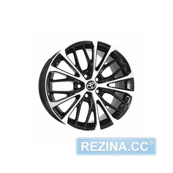 Купить Легковой диск REPLICA TY5551 BKF R16 W7 PCD5X114.3 ET45 DIA60.1