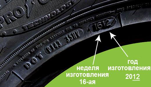 Важен ли год выпуска шины? – rezina.cc