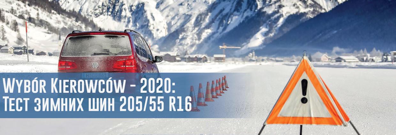 Тест зимних шин размера 205/55 R16 (Wybor Kierowcow, 2020)                                    – rezina.cc